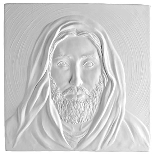 (Jesus, Son of God - Fusible Glass Slumping Tile Mold)
