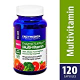 Enzymedica, Enzyme Nutrition Women's Multi-Vitamin, Support for a Healthy Heart, Immune Function and Energy, Non-GMO, 120 capsules (30 servings)