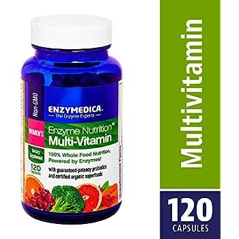 Amazon.com: Enzima Nutrición – Multivitamínico Mujer, 100 ...