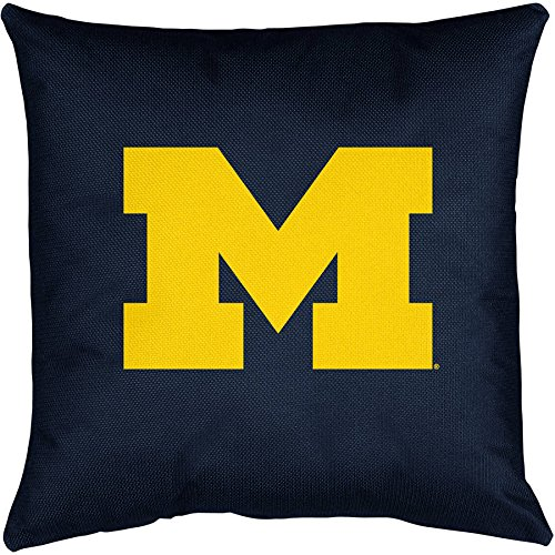 1 Piece NCAA Wolverines Theme Throw Pillow 17