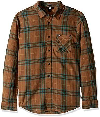 Camisa manga larga,Camisa Tiempo libre y sportwear Hombre,Sintético, Sintético,Cierre: Botón,Lavar a