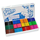 Mr. Sketch Scented Watercolor  Markers 12 Color School Pack, 192 Markers
