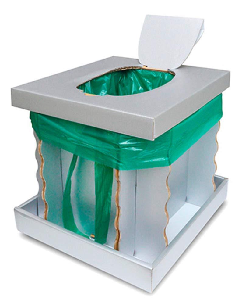 段ボール式簡易トイレ