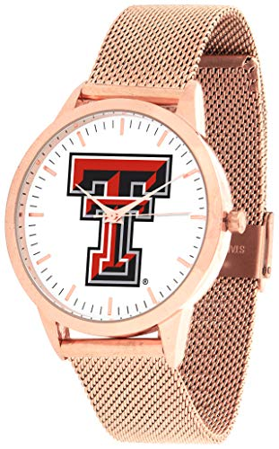 (Texas Tech Red Raiders - Mesh Statement Watch - Rose Band)