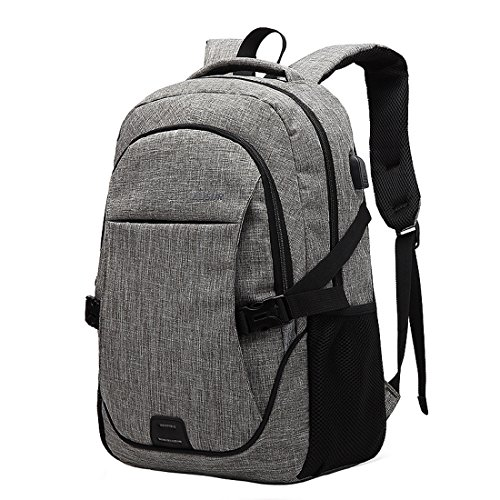 Travel Laptop Backpack with USB Charging Port College School Bookbag  Computer Bag for Women and Men 77c06f6951