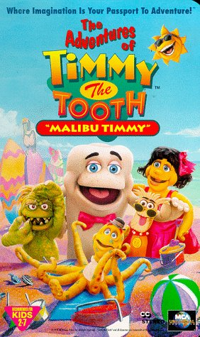 Price comparison product image Timmy Tooth: Malibu Timmy [VHS]