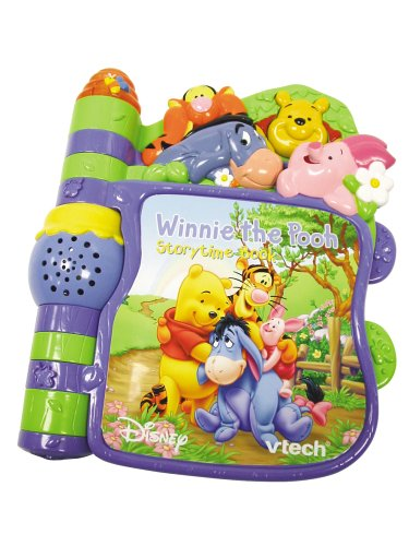 Vtech Winnie The Pooh Slide And Learn Storybook Amazoncouk Toys