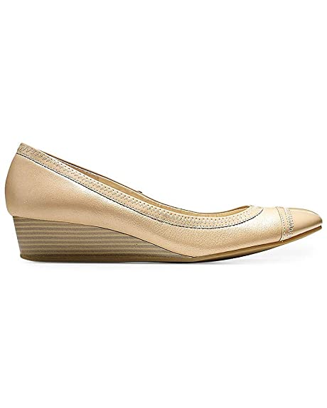7fa66233c108 Cole Haan Women s Elsie Cap Toe Wedge II  Amazon.ca  Shoes   Handbags