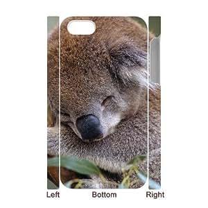 3D Bumper Plastic Case Of Koala customized case For Iphone 4/4s