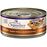 Wellness Core Signature Selects Grain Free Wet Canned Cat Food, Shredded Chicken & Beef, 5.3-Ounce (Pack Of 12) For Sale