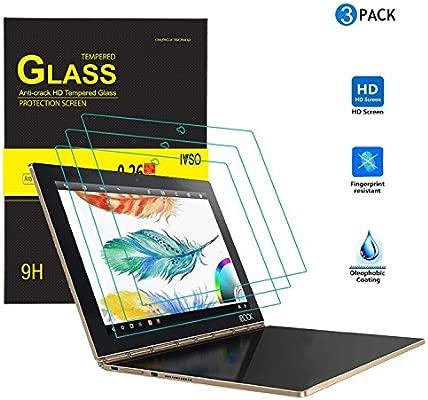 IVSO 3-Pack Premium Protector de Pantalla para Lenovo Yoga Book 10.1 Tablet Keyboard (Clear - 3 Pack, para Keyboard)