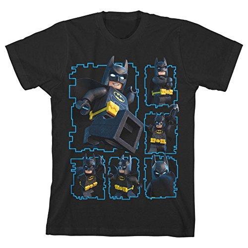 Lego Batman Youth Boys Black T-shirt