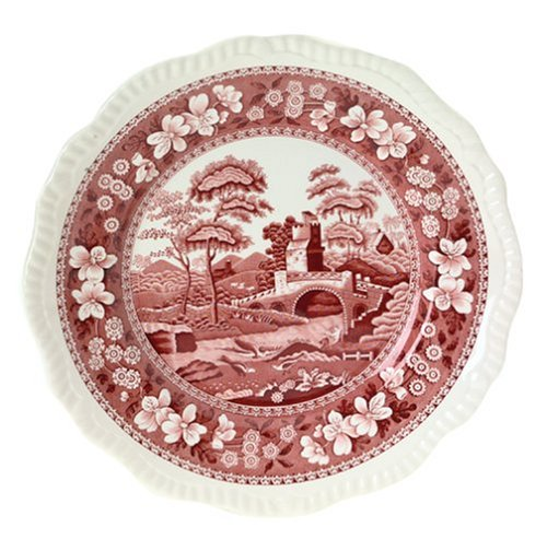 Spode Tower Pink 10-Inch Dinner -