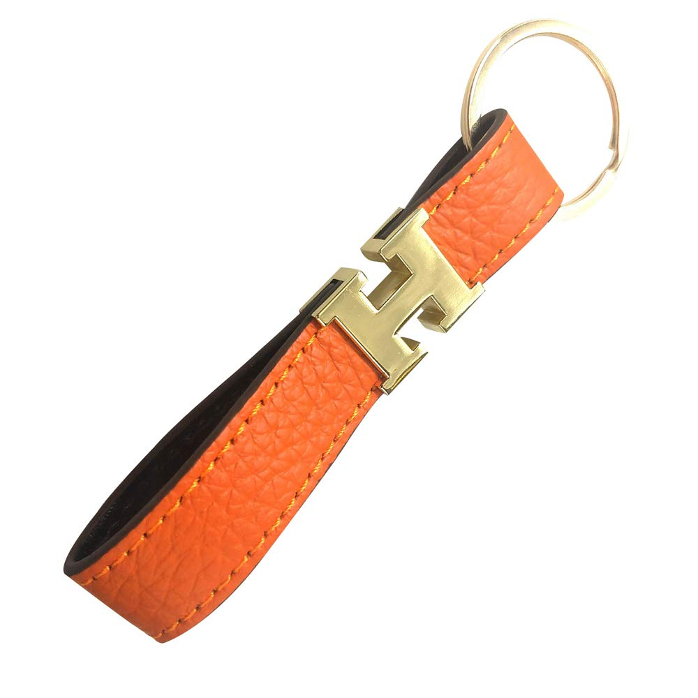 Niniesa Business Leather Keychain Car Key Chain Keyrings Gift For Men And Women Keychain
