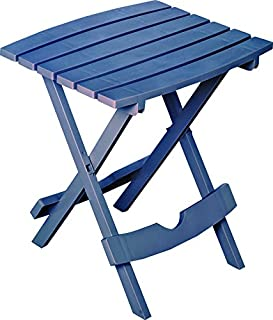 product image for Adams Mfg 8500-94-3936 Patio Side Table, Quik Fold, Resin, Bluestone - Quantity 4