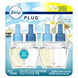 Febreze Plug Air Freshener Scented Oil Refill, Bora Bora Waters, 2 count