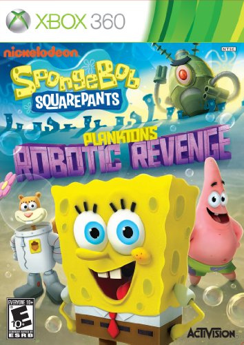 SpongeBob SquarePants: Plankton's Robotic Revenge - Xbox 360 (Spongebob Video Games Xbox)