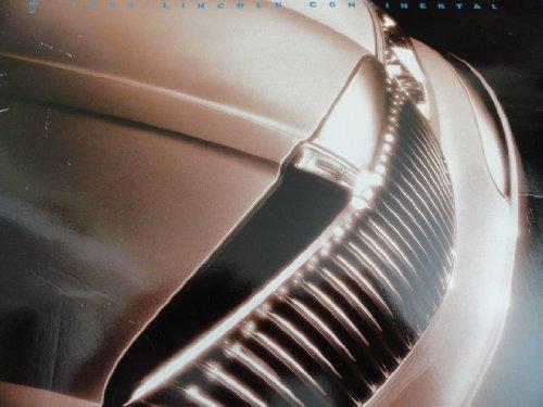 1999 Lincoln Continental Sales Brochure
