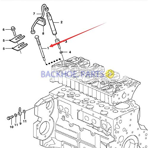 Amazon Injector 20502189 For Volvo Penta Tad520 Tad720 D5a D7a Ew140b L40b L45b Automotive: Volvo Penta Fuel Pump Diagram At Sergidarder.com