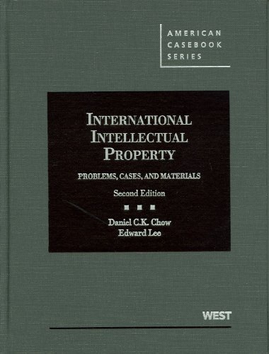 International Intellectual Property: Problems, Cas…