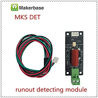 Amazon.com: 3D Printer - MKS DET Power Break Sensor Power Off Detector Detecting Monitor Outage Alarm Module Power Source Sentinel 220DET runout Detector: ...