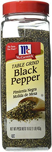 McCormick Pure Ground Black Pepper, 16 oz.