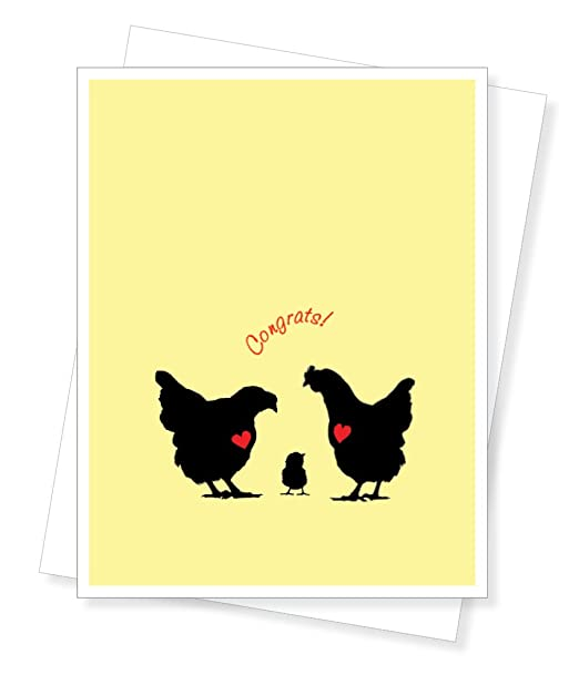 Chick Congrats, New Baby Greeting Card