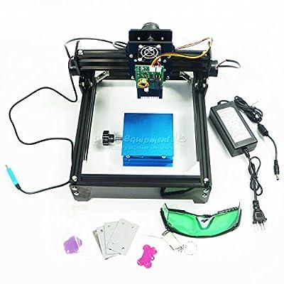 Disassembled 15W laser 15000MW diy laser engraving machine 1420cm ,Metal,Iron,Stainless Steel,Stone,Ceramic, Laser engraver