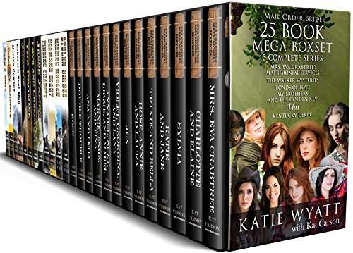25 Book Mega Box Set 5 Complete Series: Mail Order Bride (Mega Box Set Series) - Cardiff Series