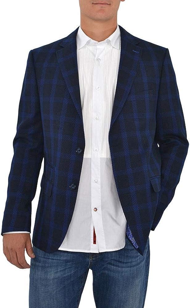 Luchiano Visconti 153 Sport Coat in Blue