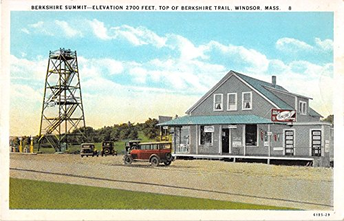 Windsor Massachusetts Berkshire Summit Showing Store Antique Postcard - Store Berkshire