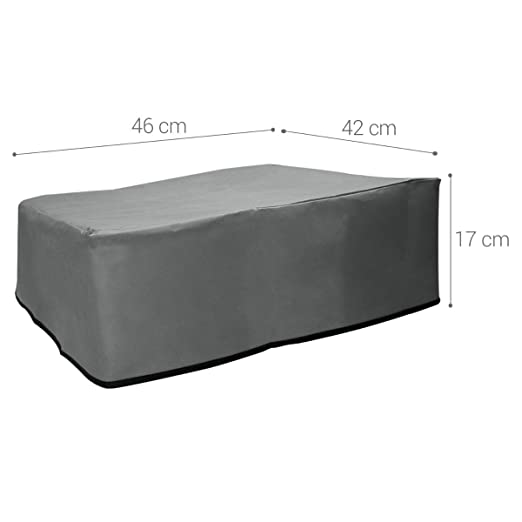 1212W Dark Grey Printer Dust Protector kwmobile Dust Cover for Brother HL-1110
