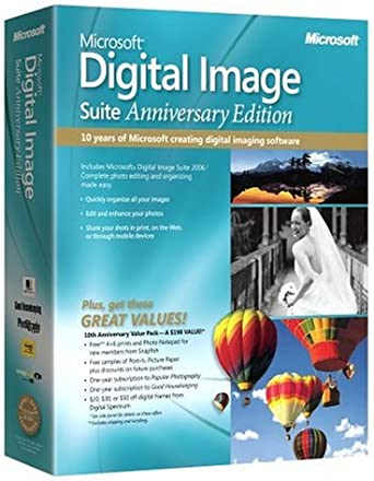 Oem Microsoft Digital Image Suite 2006