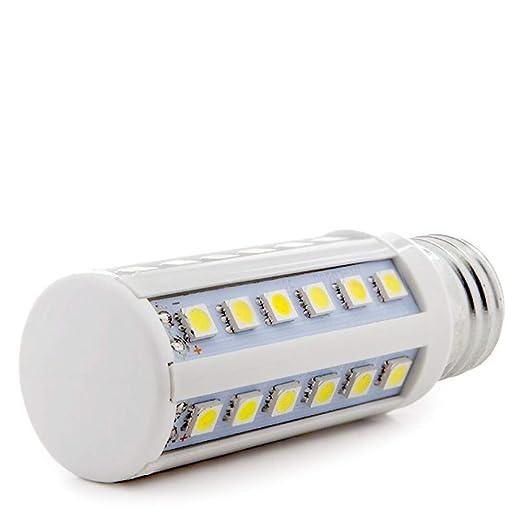 Greenice | Bombilla de LEDs E27 5050SMD 5W 400Lm 30.000H | Blanco Natural: Amazon.es: Iluminación