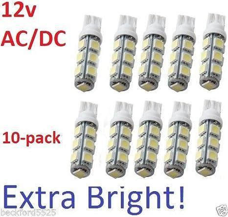 2 pack 12V DC 68 LED per bulb for Malibu landscape lighting warm white-T10-T15