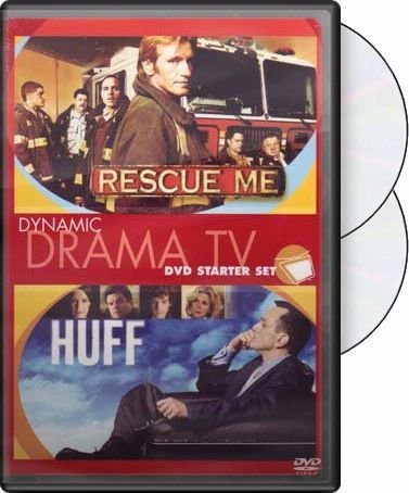 Dynamic Drama TV DVD Starter Set: (Rescue Me / Huff) by Dennis Leary