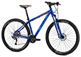 Mongoose Men's Tyax Comp 27.5″ Wheel, Blue, 19.5 inch/Large Review