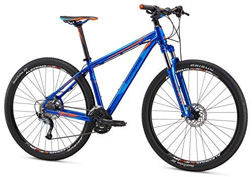 Mongoose Men's Tyax Comp 27.5″ Wheel, Blue, 17.5 inch / Medium For Sale