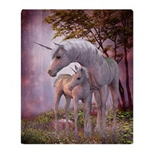 CafePress Enchanted Unicorns Blanket Stadium