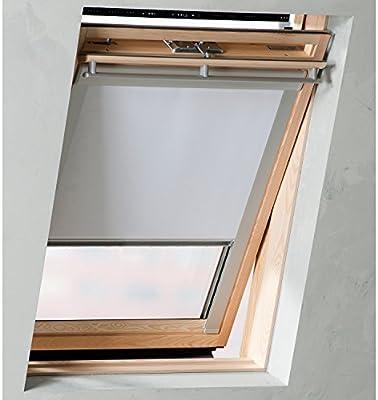 Estor para Velux Ventana de tejado: Blanco 117 x 74 cm – U04 804 7 ...