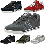 #10: alpine swiss Liam Mens Fashion Sneakers Suede Trim Low Top Lace Up Tennis Shoes