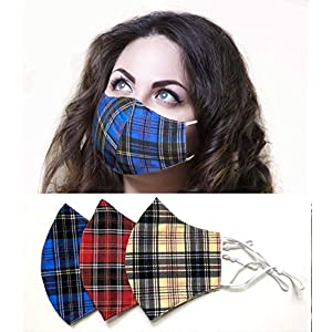 handmade-plaid-face-mask-pack-of-3