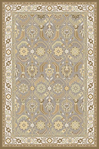 Surya SNM9037-23 Sonoma Hand Knotted Classic Accent Rug, 2-Feet by 3-Feet