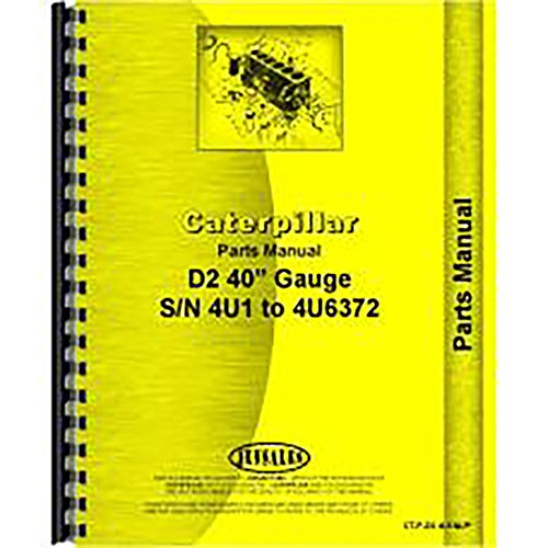 Caterpillar Tractor Parts - For Caterpillar D2 Tractor Parts Manual (New)