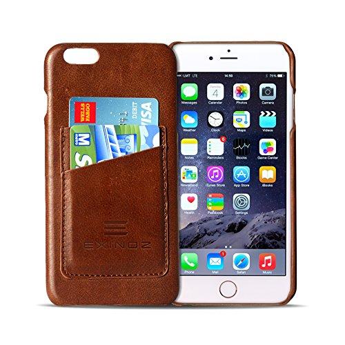 Exinoz Genuine Leather iPhone 6s Plus / iPhone 6 Plus Case Leather