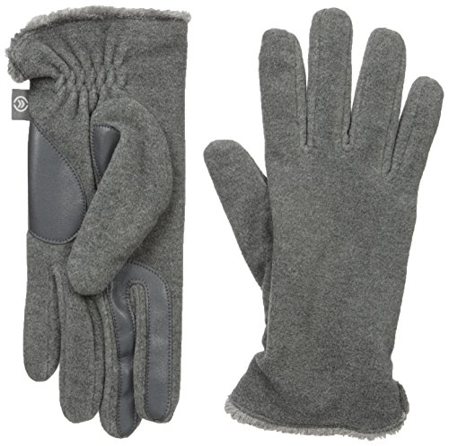 - Isotoner Women's Stretch Fleece Gloves with Microluxe and Smart Touch Technology