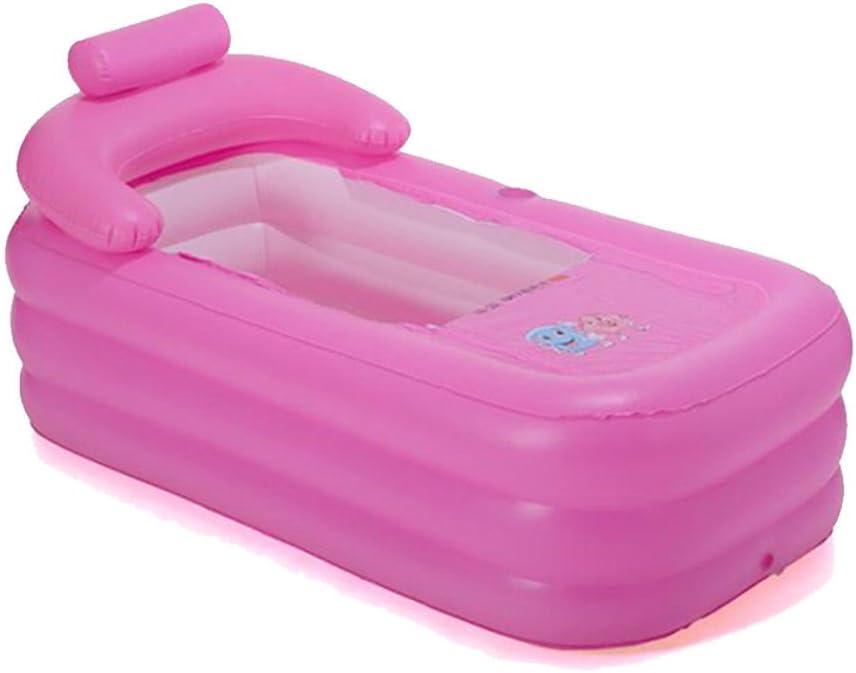 OUkANING - Bañera hinchable portátil para adultos, bañera infantil, bañera plegable