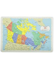 PAINLESS LEARNING PLACEMATS-Canada Map-Placemat