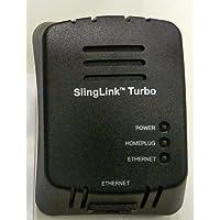 Sling Media Slinglink Turbo W1 Ethernet Over Power Adapter