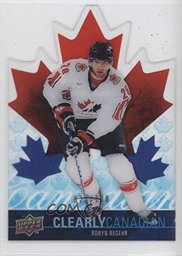 robyn-regehr-23-100-hockey-card-2009-10-upper-deck-clearly-canadian-can-rr